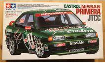 Castrol Nissan Primera JTCC 1/24 Tamiya, сборная модель автомобиля, scale24