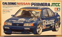 Calsonic Nissan Primera JTCC 1/24 Tamiya, сборная модель автомобиля, scale24