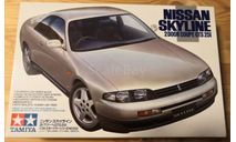 Nissan Skyline GTS 25t 1/24 Tamiya, сборная модель автомобиля, scale24