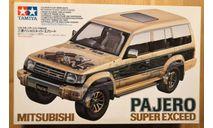 Mitsubishi Pajero Super Exceed 1/24 Tamiya, сборная модель автомобиля, scale24