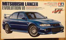Mitsubishi Lancer Evolution VI 1/24 Tamiya, сборная модель автомобиля, scale24
