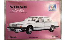 Volvo 760 GLE 1/24 Italery, сборная модель автомобиля, Italeri, scale24