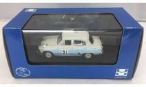 Москвич-403 №21 Ралли Монте-Карло   1964г., масштабная модель, VVM Co. Ltd, scale43