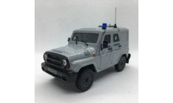 УАЗ 'Хантер' спецназ милиция, бронированный (мастер - Артур Кустрич)