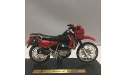 KAWASAKI KLR 650 (Maisto), масштабная модель мотоцикла, Конверсии мастеров-одиночек, scale0