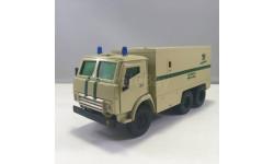 КАМАЗ инкассаторская служба, масштабная модель, Конверсии мастеров-одиночек, scale43