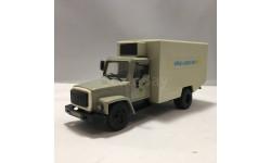 ГАЗ-3307 фургон 'Яйца-Цыплята', масштабная модель, Компаньон, 1:43, 1/43