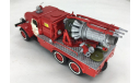SL085A    автомобиль газоводяного тушения АГВТ-100 на шасси ЗИЛ-157К   (СарЛаб), масштабная модель, 1:43, 1/43