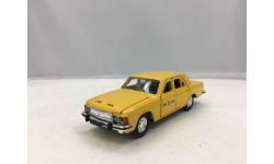 ВОЛГА ГАЗ-3102 такси, масштабная модель, Агат/Моссар/Тантал, scale43