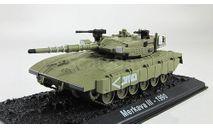 Merkava III (Израиль, 1990) _ танк _ ТМ-06 _ 1:72, журнальная серия Автомобиль на службе (DeAgostini), 1/72, Танки мира
