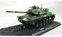 Patton M60A3 (USA, 1985) _ танк _ ТМ-12 _ 1:72, журнальная серия Автомобиль на службе (DeAgostini), 1/72, Танки мира