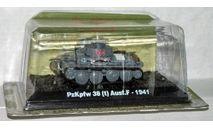 Pz.Kpfw.38(t) (Ge, 1941) _ танк _ ТМ-13 _ 1:72, журнальная серия Автомобиль на службе (DeAgostini), 1/72, Танки мира