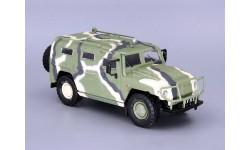 ГАЗ-233014 «Тигр» военный (камуфляж) _ АЛ-216 _ 1:43