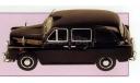 LTI Austin FX4 _ 1965 _ London _ ТаМ-т2 _ 1:43, журнальная серия масштабных моделей, 1/43, Altaya