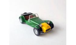 LotusSeven _ СК-36 _ 1:43, журнальная серия Суперкары (DeAgostini), scale43, Суперкары. Лучшие автомобили мира, журнал от DeAgostini