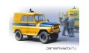 УАЗ-469Б-АП _ППС _ АНС-48 _ 1:43, журнальная серия Автомобиль на службе (DeAgostini), 1/43, Автомобиль на службе, журнал от Deagostini