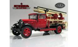 ПМГ-1 (ГАЗ-АА) (пожарная машина ГАЗ-1) _ АНС-52 _ 1:43