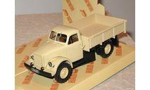 ГАЗ-63 бортовой _ песочный _ НАП _ 1:43, масштабная модель, 1/43, Наш Автопром