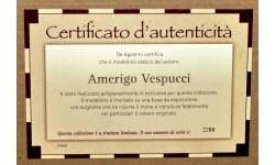 Amerigo Vespucci _ Сертификат+книжка _ Великие парусники - спецвыпуск