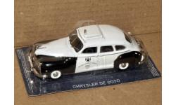 Chrysler De Soto Custom 4-door Sedan _ ПММ-16, журнальная серия Полицейские машины мира (DeAgostini), 1:43, 1/43