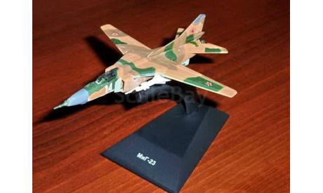 МиГ-23МФ _ истребитель _ ЛС-021, масштабные модели авиации, DeAgostini
