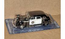 Chrysler Airflow 1936 _ ПММ-42, журнальная серия Полицейские машины мира (DeAgostini), 1:43, 1/43