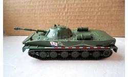 ПТ-76 _ плавающий танк _ РТ-069 _ 1:72