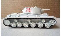 КВ-1 _ танк _ РТ-070 _ 1:72, журнальная серия Русские танки (GeFabbri) 1:72, 1/72, Русские танки (Ge Fabbri)