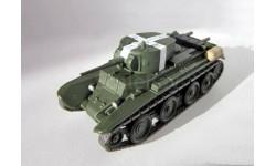БТ-7 _ танк _ РТ-074 _ 1:72, журнальная серия Русские танки (GeFabbri) 1:72, 1/72, Русские танки (Ge Fabbri)