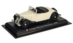 CitroenTraction Roadster(1939) _ LS-07 _ 1:43, журнальная серия масштабных моделей, 1/43, Legendarne Samochody (Польша)