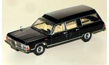РАФ-ГАЗ-3920 (скорая помощь на базе ГАЗ-14 или 'Чёрный доктор')_ чёрный _ НАП _ 1:43, масштабная модель, 1/43, Наш Автопром