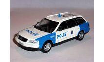 Audi A6 Аvant _ ПММ-38 _ 1:43, журнальная серия Полицейские машины мира (DeAgostini), 1/43, Полицейские машины мира, Deagostini