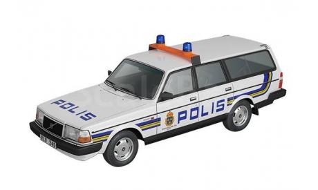 Volvo 240 _ ПММ-56 _ 1:43, журнальная серия Полицейские машины мира (DeAgostini), 1/43, Полицейские машины мира, Deagostini