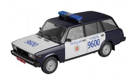 ВАЗ-2104 _ ПММ-55 _ 1:43, журнальная серия Полицейские машины мира (DeAgostini), 1/43, Полицейские машины мира, Deagostini