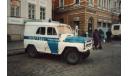 УАЗ-469Б _ ПММ-74 _ 1:43, журнальная серия Полицейские машины мира (DeAgostini), 1/43, Полицейские машины мира, Deagostini
