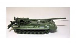 2С7 «Пион» _ самоходная артиллерийская установка (САУ) _ РТ-055 _ 1:72, журнальная серия масштабных моделей, 1/72, Eaglemoss