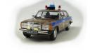 Mercedes-Benz W123 _ ПММ-59 _ 1:43, журнальная серия Полицейские машины мира (DeAgostini), 1/43, Полицейские машины мира, Deagostini