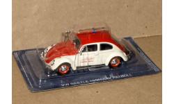 Volkswagen Kafer (Beetle)  _ ПММ-80, журнальная серия Полицейские машины мира (DeAgostini), 1:43, 1/43, Полицейские машины мира, Deagostini
