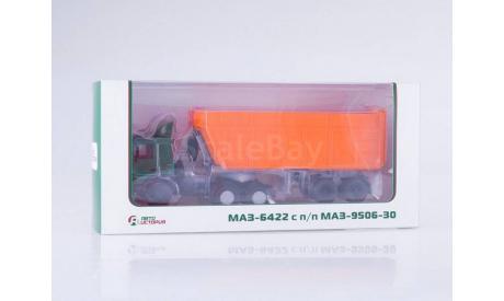 МАЗ-6422 с самосвальным полуприцепом МАЗ-9506-30 _ АИст, масштабная модель, scale43, Автоистория (АИСТ)
