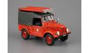 ПМГ-20 (ГАЗ-69)Пожарная машина _ ТЕСТ! _ АНС-т03, журнальная серия Автомобиль на службе (DeAgostini), scale43, Автомобиль на службе, журнал от Deagostini