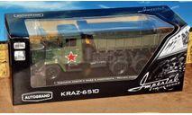 КрАЗ-6510 самосвал _ армейский _ Autotime, масштабная модель, Autotime Collection, scale43