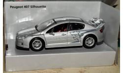Peugeot 407 Silhouette (2004) _ cеребристый металлик _ Autotime _ 1:43, масштабная модель, 1/43, Autotime Collection