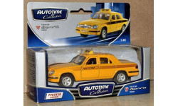 ГАЗ-31105 Волга Такси _ Autotime _ 1:43, масштабная модель, 1/43, Autotime Collection