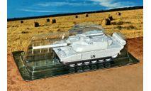 AMX-56 Leclerc (Франция1992) _ танк _ БММ-17 _ 1:72, журнальная серия Боевые машины мира 1:72 (Eaglemoss collections), 1/72