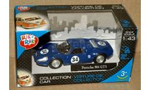 Porsche 904 GTS №34 _ сниий _ Cararama _ 1:43, масштабная модель, Bauer/Cararama/Hongwell, scale43