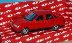ВАЗ-2110 (Lada 110) красный _ CarLine _ 1:43