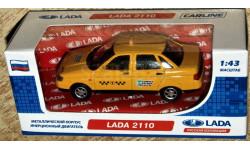 ВАЗ-2110 (Lada 110) такси _ CarLine _ 1:43