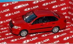 Lada Granta (ВАЗ-2190)красный _ CarLine _ 1:43