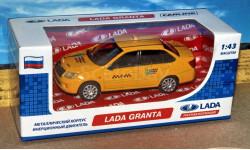 Lada Granta (ВАЗ-2190)такси _ CarLine _ 1:43