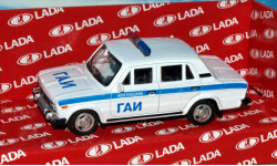 Lada 2106 (ВАЗ-2106) ГАИ _ CarLine _ 1:43